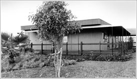 photo of original headquarters building